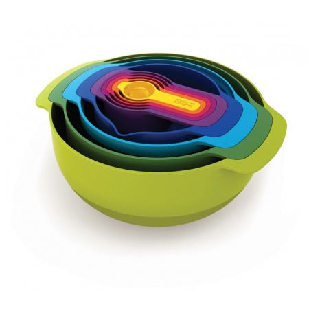 Joseph Joseph Nest Zestaw przyrządów kuchennych Nest9, kolorowy 40031