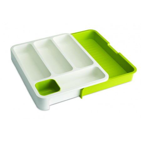 Joseph Joseph Organizer do szuflad na sztućce, biało-zielony 85041