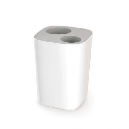 Joseph Joseph Split Kosz łazienkowy do segregacji odpadów, biały/szary 70514