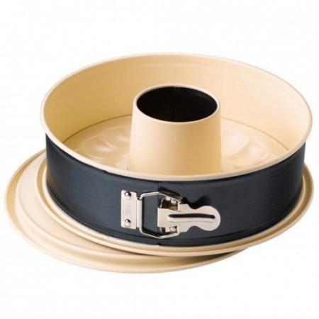 Kaiser Home Forma do pieczenia 26 cm, czarna/kremowa 2300659237