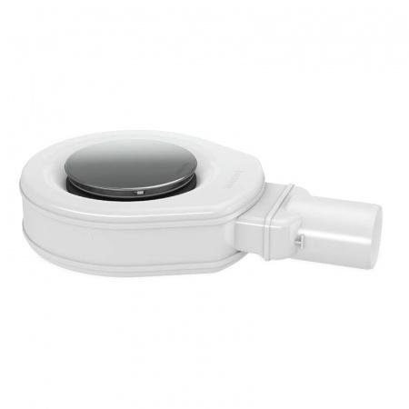 Kaldewei 4052 Syfon specjalny płaski KA 90 do ESR II z przyłączem drenażu, biały 687740520999