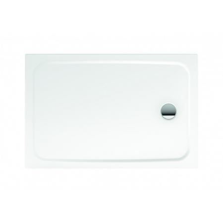 Kaldewei Cayonoplan 2255-1 Brodzik prostokątny 75x100x1,85 cm z wykończeniem przeciwpoślizgowym, z powierzchnią uszlachetnioną, biały 361530003001