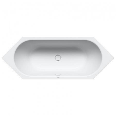 Kaldewei Centro Duo 6 134 Wanna sześciokątna 200x75 cm z powierzchnią uszlachetnioną, biała 283400013001