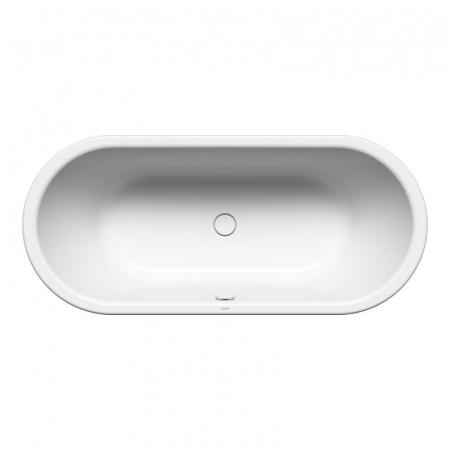 Kaldewei Meisterstuck 1128 Centro Duo Oval Wanna wolnostojąca owalna 180x80 cm z powierzchnią uszlachetnioną, biała 200240403001