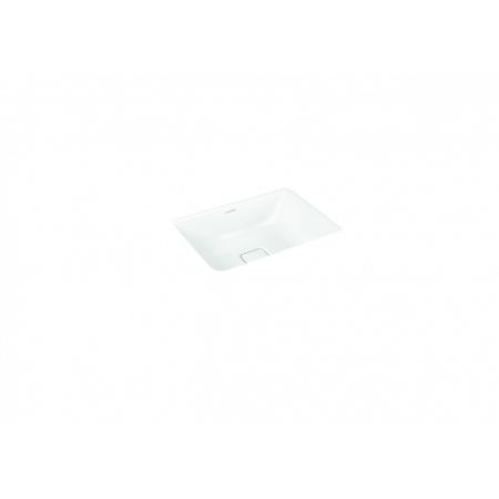 Kaldewei Cono 3078 Umywalka podblatowa 47x38,1 cm bez przelewu bez otworu na baterię biała 908506003001