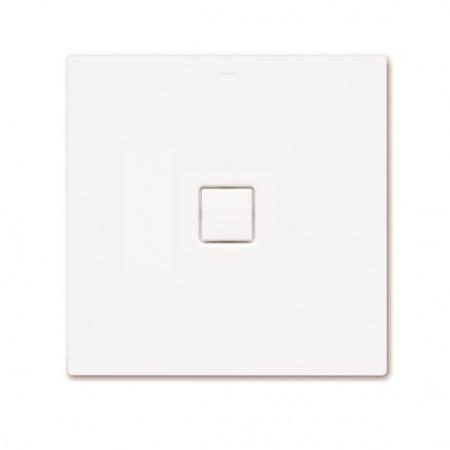 Kaldewei Conoflat 783-2 Brodzik kwadratowy z nośnikiem ze styropianu 90x90 cm, biały 465348040001