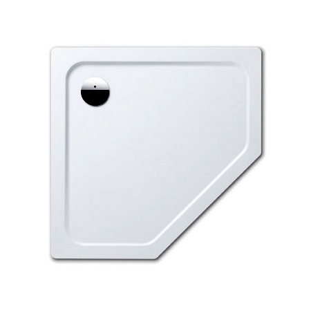 Kaldewei Cornezza 672-1 Brodzik pięciokątny 100x100 cm, biały 459200010001