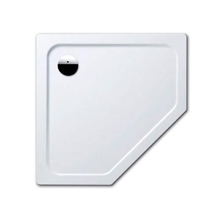 Kaldewei Cornezza 673-1 Brodzik pięciokątny 100x100 cm z powierzchnią uszlachetnioną, biały 459300013001