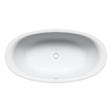 Kaldewei Ellipso Duo Oval 232 Wanna owalna bez obudowy 190x100 cm z powierzchnią uszlachetnioną, biała 286200013001