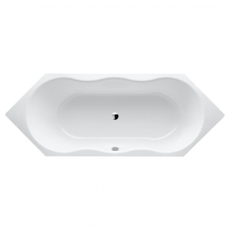 Kaldewei Novola Duo 6 254 Wanna sześciokątna 212x80x44 cm z powierzchnią uszlachetnioną, biała 242400013001