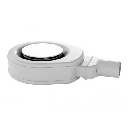 Kaldewei Professional 4449 Syfon KA 90 superpłaski z emaliowaną pokrywą odpływu, biały 687744490001