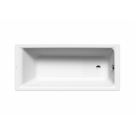 Kaldewei Puro 652 Wanna prostokątna 170x75x42 cm z wykończeniem przeciwpoślizgowym i z powierzchnią uszlachetnioną, biała 256230003001