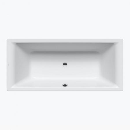 Kaldewei Puro Duo 663 Wanna prostokątna 170x75x42 cm z powierzchnią uszlachetnioną, biała 266300013001