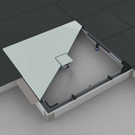 Kaldewei System instalacyjny ESR II do brodzików Fontana 80x80 cm, 584574460000