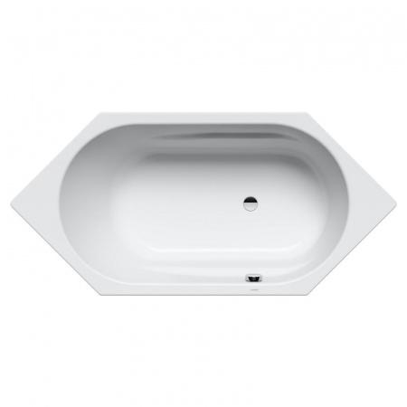 Kaldewei Vaio 6 958 Wanna sześciokątna 190x90x43 cm z powierzchnią uszlachetnioną, biała 233800013001