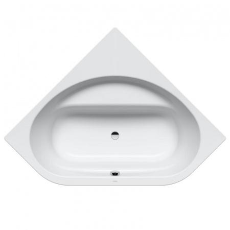 Kaldewei Vaio Duo 3 962-7 Wanna narożna 140x140x43 cm z obudową, z powierzchnią uszlachetnioną, biała 234248053001