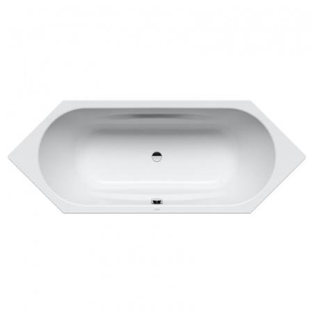 Kaldewei Vaio Duo 6 952 Wanna sześciokątna 206x80x43 cm z powierzchnią uszlachetnioną, biała 233200013001