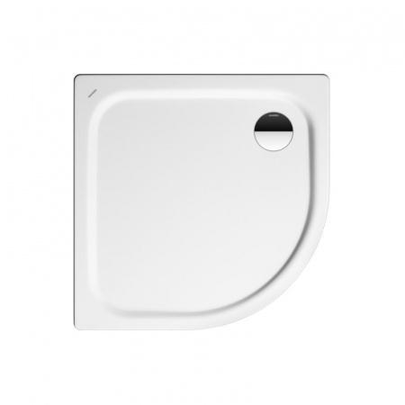 Kaldewei Zirkon 511-1 Brodzik półokrągły 80x80 cm z powierzchnią uszlachetnioną, biały 452000013001