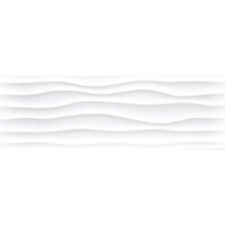 Keraben Millenium Flow Bianco Brillo Płytka ścienna 30x90 cm, biała KEHPG040