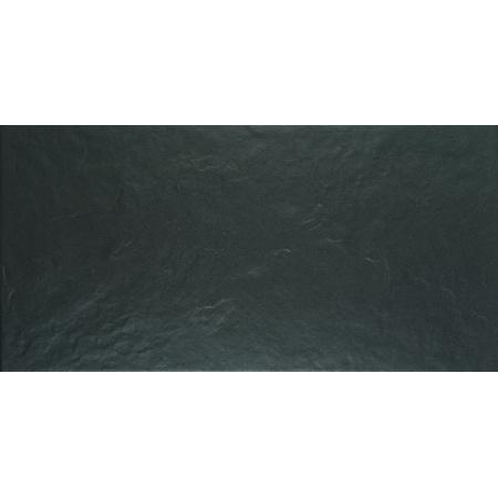 Keraben Mistral Negro Płytka ścienna 25x50 cm, czarna KMQ1900K