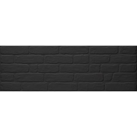 Keraben Wall Brick Black Płytka ścienna 30x90 cm, czarna KKHPG020