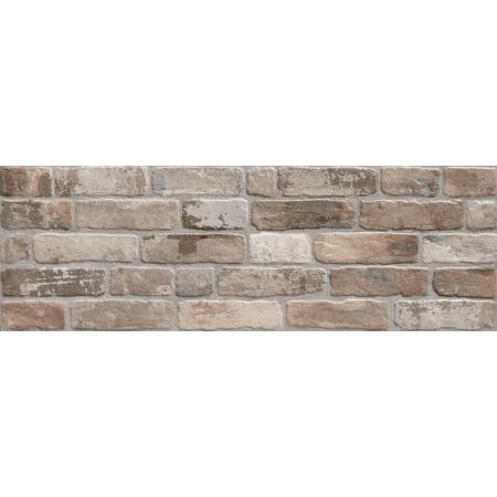 Keraben Wall Brick Old Smoke Płytka ścienna 30x90 cm, brązowa KKHPG03O
