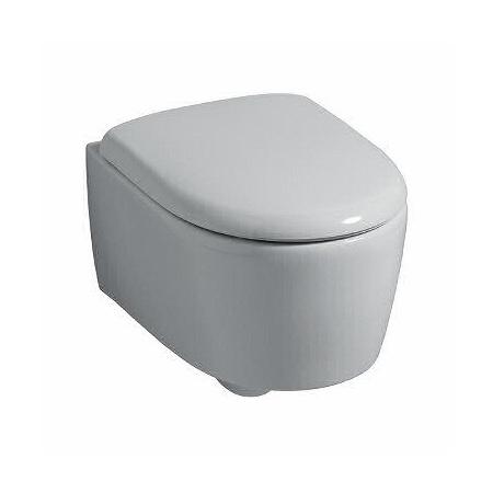 Keramag 4U/iCon Miska WC wisząca 49 cm lejowa, biała z powłoką KeraTect 203430600