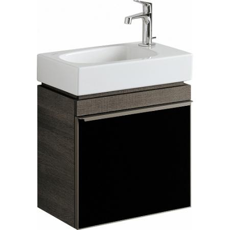 Keramag Citterio Szafka podumywalkowa 55,4x44x31,6 cm, dąb czarny/szkło czarne 835146000