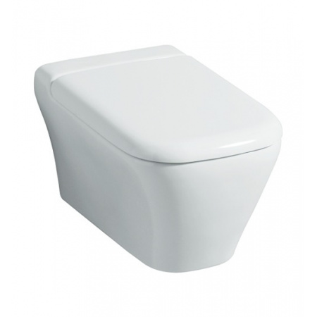 Keramag MyDay Toaleta WC podwieszana 54x36 cm Rimfree bez kołnierza, biała 201460