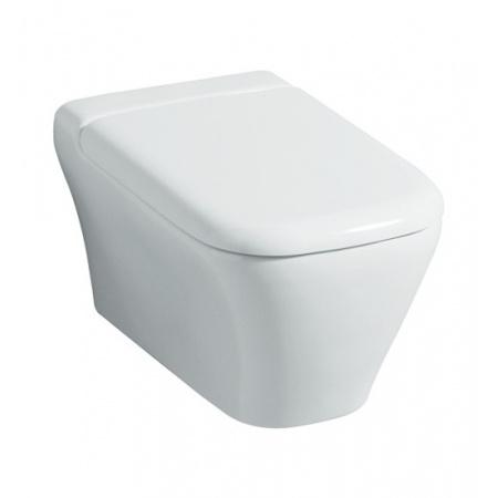 Keramag MyDay Rimfree Miska WC muszla klozetowa podwieszana lejowa 54x36 cm, bez rantu spłukującego, z powłoka KeraTect, biała 201460600