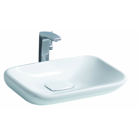 Keramag MyDay Umywalka nablatowa 60x39 cm bez przelewu, biała 245460