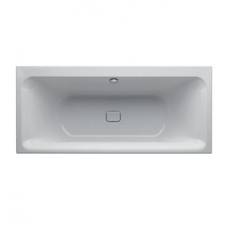 Keramag MyDay Wanna prostokątna 170x75 cm z odpływem na środku, biała 650570000