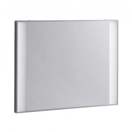 Keramag Silk Lustro prostokątne 80x62 cm z oświetleniem, stalowe 816580000