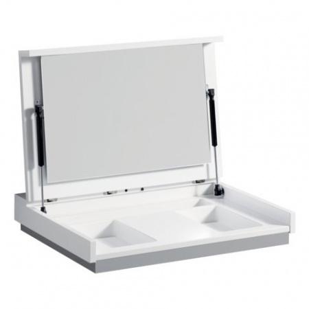 Keramag Silk Moduł toaletowy 60x47x10 cm, biały połysk Y816352000