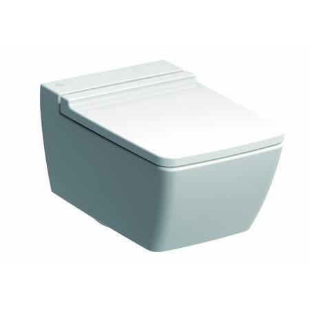 Keramag Xeno2 Muszla klozetowa miska WC podwieszana 54x35 cm Rimfree, biała 207050000