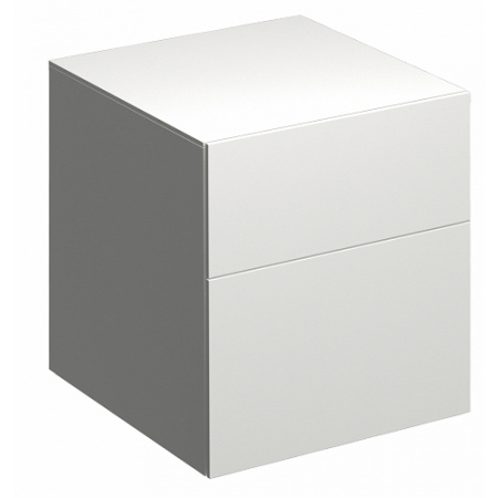 Keramag Xeno2 Szafka boczna 45x46,2x51 cm, biały połysk 807045000