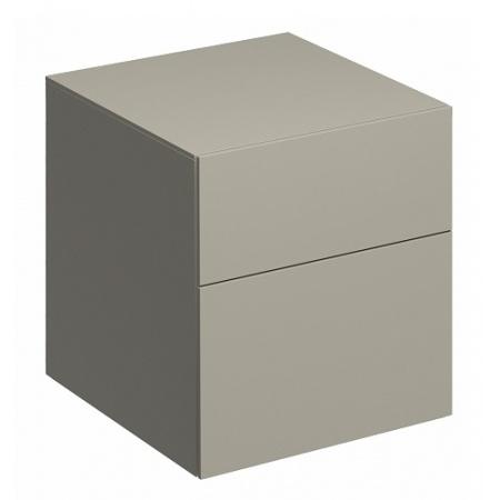 Keramag Xeno2 Szafka boczna 45x46,2x51 cm, ciepły szary mat 807046000