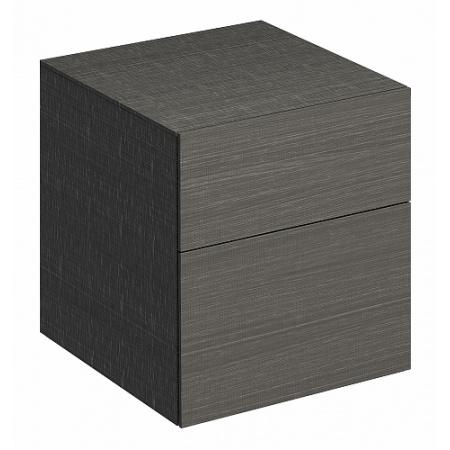 Keramag Xeno2 Szafka boczna 45x46,2x51 cm, szary mat płótno 807047000