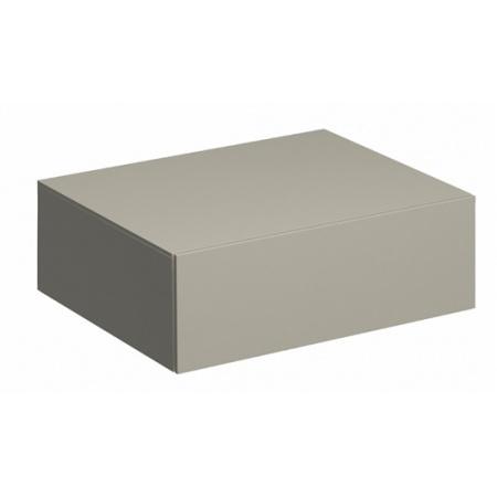 Keramag Xeno2 Szafka boczna 58x46,2x20 cm, ciepły szary mat 807061000