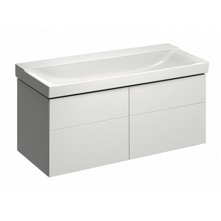 Keramag Xeno2 Szafka podumywalkowa 117,4x46,2x53 cm 4 szuflady, biały połysk 807220000