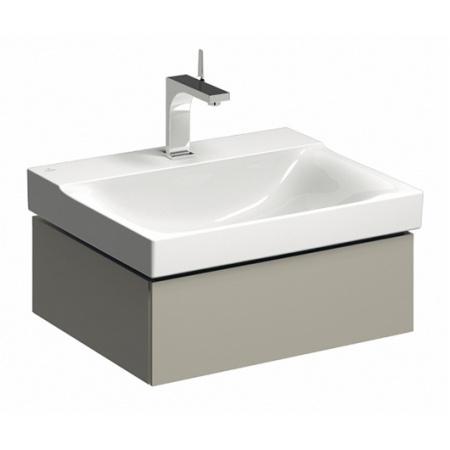 Keramag Xeno2 Szafka podumywalkowa 58x46,2x22 cm 1 szuflada, ciepły szary mat 807161000