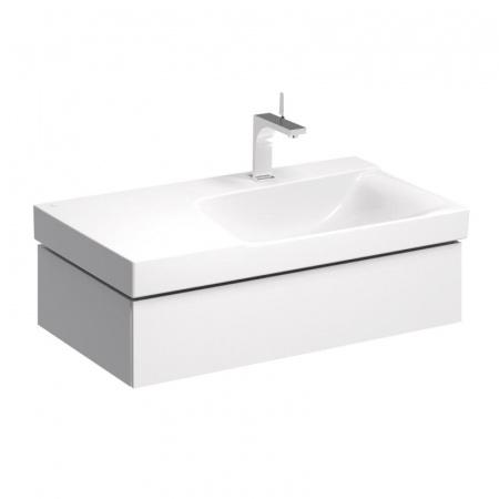 Keramag Xeno2 Szafka podumywalkowa 88x46,2x22 cm 1 szuflada prawa, biały połysk 807490000