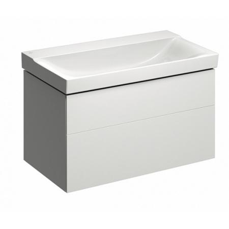 Keramag Xeno2 Szafka podumywalkowa 88x46,2x53 cm 2 szuflady, biały połysk 807290000