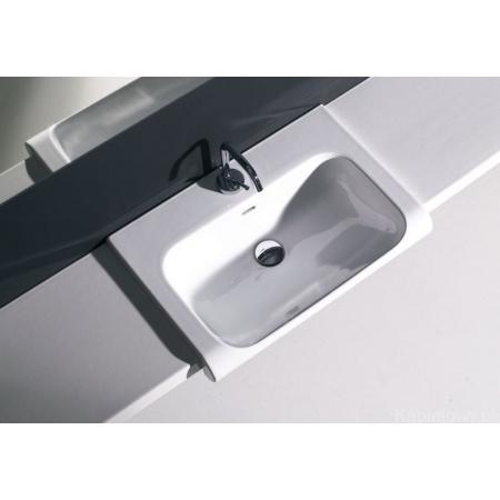 Kerasan Agua Libre Blat ceramiczny pod umywalkę, biały matowy 341530