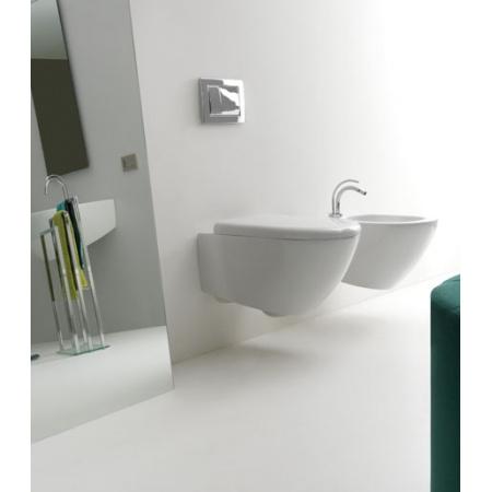 Kerasan Aquatech Muszla klozetowa miska WC podwieszana 36,5x55x34 cm, biała 3715