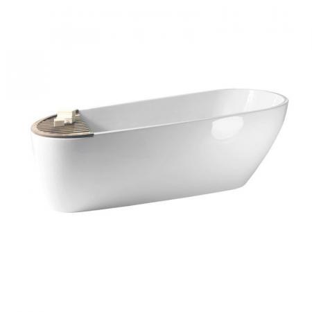 Kerasan Aquatech Wanna wolnostojąca 170x70 cm, biała 3750