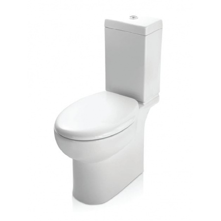 Kerasan Bit Muszla klozetowa miska WC kompaktowa 36,5x67x42 cm, biała 4417