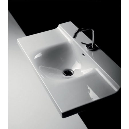 Kerasan Aqua Libre Buddy Umywalka wisząca 80x42x18,5 cm, biała 3403