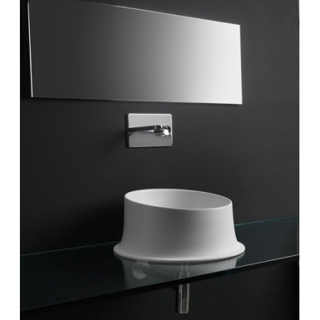 Kerasan Ciotola Umywalka nablatowa 46x46x20 cm, biała 430501