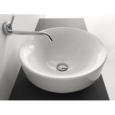 Kerasan Ciotola Umywalka wpuszczana w blat 35x35x16 cm, biała 355801